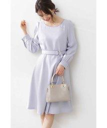 PROPORTION BODY DRESSING/◆バイカラーパイピングフレアワンピース/502932576