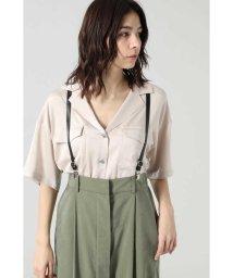 ROSE BUD/オープンカラーシャツ/502932614