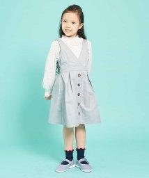a.v.v(KID'S)/[100-130]【洗える】カシュクールジャンパースカート[WEB限定サイズ]/502883972