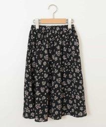 a.v.v(KID'S)/[160]【洗える】フラワープリントスカート[WEB限定サイズ]/502883979