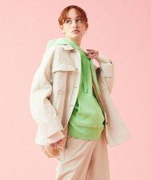TOMORROWLAND/フィブリルグログラン ベルテッドシャツジャケット/502932906