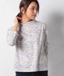 CARA O CRUZ/フラッグモチーフのハイネックTシャツ/502912925