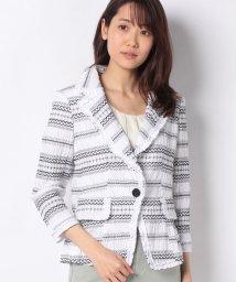 MADAM JOCONDE/シャーリング刺繍 ジャケット/502929599