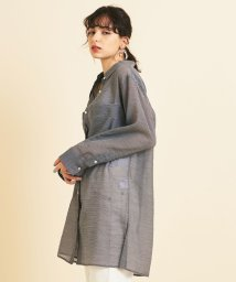 BEAUTY&YOUTH UNITED ARROWS/【予約】BY シアーギンガムチェック ポケットワイドシャツ -ウォッシャブル-/502931415