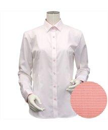 BRICKHOUSE/ウィメンズシャツ長袖形態安定 ワイド衿  ストライプ/502933856