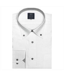 BRICKHOUSE/ワイシャツ 長袖 形態安定 ボタンダウン チェック織柄(透け防止) 標準体/502933865