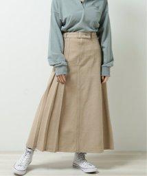 DOUBLE NAME/片サイドプリーツスカート/502933875