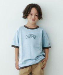 URBAN RESEARCH DOORS(Kids)/【予約】champion インレイリンガーT-SHIRTS(KIDS)/502934961