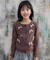 子供服Bee/3タイプのリボン付き長袖カーディガン/501261171