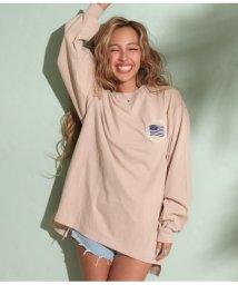 anap mimpi/ビッグシルエット刺繍ロングTシャツ/502514322