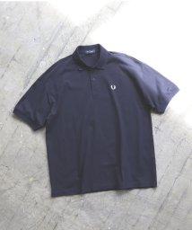 BEAMS MEN/【予約】FRED PERRY × BEAMS / 別注 オーバーサイズ ポロシャツ/502861653