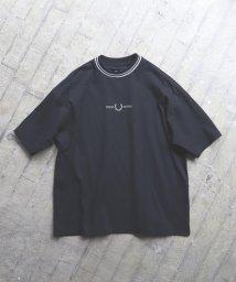 BEAMS MEN/FRED PERRY × BEAMS / 別注 オーバーサイズ ピケ Tシャツ/502861658