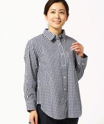 Grand PARK/ギンガムチェック柄2WAYシャツ/502910371