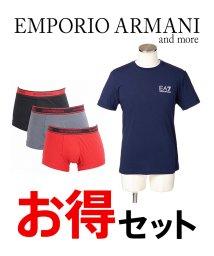 EMPORIO ARMANI/EA7・EMPORIO ARMANI メンズTシャツ・アンダーウェア2点セット/502913140