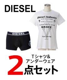 DIESEL/DIESEL(apparel)  メンズTシャツ・アンダーウェア2点セット/502913141