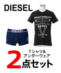 DIESEL/DIESEL(apparel)  メンズTシャツ・アンダーウェア2点セット/502913142