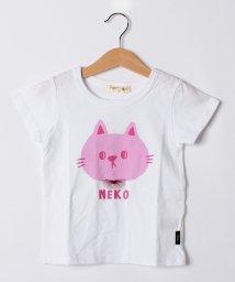 FORTYONE/ネコプリントTシャツ/502913642