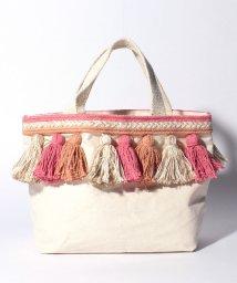 Lilas Campbell/canvas tassel bag/502916734