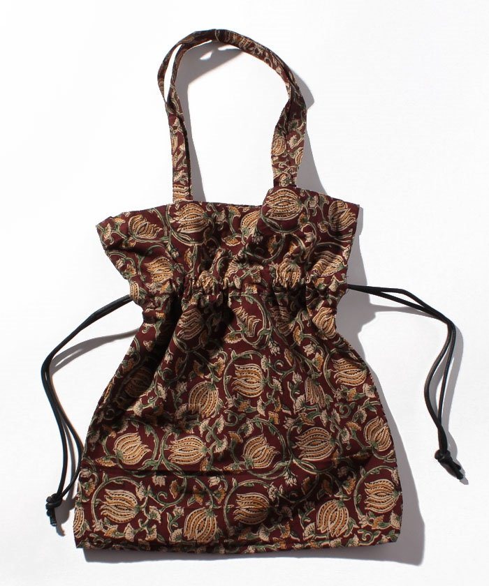 Textile marche bag_flower
