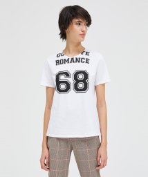 SISLEY/コットン型押しオーバーサイズ半袖Tシャツ・カットソー/502929776