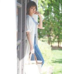 31 Sons de mode/【WEB限定カラー有】ストライプレースワンピース /502933175