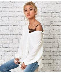 LATINA/オーバーサイズホワイトシャツ/502935399