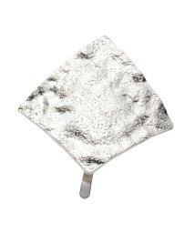 cream dot/ニュアンスたっぷりの艶めきを放つクラフト調メタルポニーフック/502935735