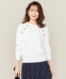 KUMIKYOKU(S SIZE)/【Oggi2月号掲載】CO/NYマリン プルオーバーニット/502937303
