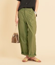 BEAUTY&YOUTH UNITED ARROWS/BY TRADITIONAL バックサテンファティーグパンツ/502920789