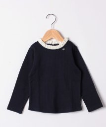 petit main/ちびフリルネックインナーTシャツ/502927522