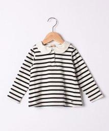 petit main/丸衿つきTシャツ/502930433