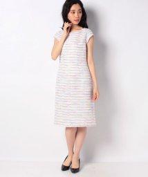 MADAM JOCONDE/【セットアップ対応】 ファンシーツィード ドレス/502931293