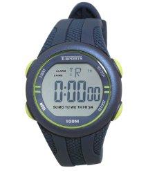 CREPHA PLUS/T-SPORTS デジタルウオッチ 腕時計 スポーツ シリコンバンド 10気圧防水【TS-D034】/502931360