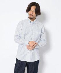 UNCUT BOUND/J.PRESS(ジェイプレス)  ボタンダウンシャツ | V/OX IRG B.D SH BS S/502938055