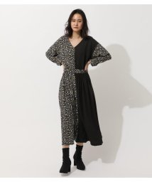 AZUL by moussy/FLOWER PATTERN MIX ONEPIECE/502938326