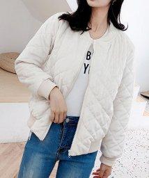 shoppinggo/レディース ジャケット ノーカラー アウター 長袖 かわいい スプリングコート/502938950