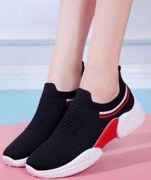 shoppinggo/メッシュスニーカーレディース 運動靴 カジュアル 通気性 ウォーキングシューズ シルエット/502939003