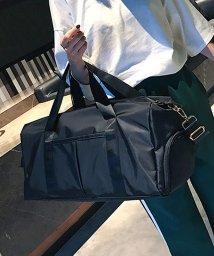 miniministore/スポーツバッグ 男女兼用 ボストンバッグ ジムバッグ シューズ収納 バッグ 防水ポケット付/502940529
