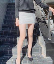 seiheishop/ミニスカート タイトスカート 裏起毛スカート レディース ショート丈 無地 暖かい/502940571