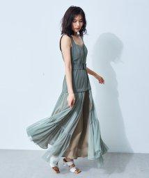 FRAY I.D/チュールスカートタイトドレス/502942117