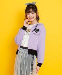 JENNI belle/ミニ裏毛ショートZIPパーカー/502941182
