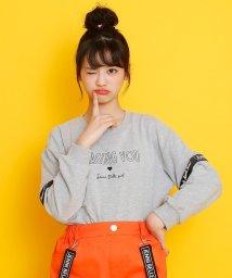 JENNI belle/ミニ裏毛袖テープ切替えトレーナー/502941186