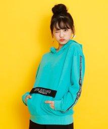 JENNI belle/ミニ裏毛配色フラップパーカー/502941187