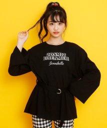 JENNI belle/ベルト付きロング丈Tシャツ/502941191
