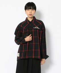 AVIREX/リボン チェックシャツ/ RIBBON CHECK SHIRT/502942650