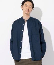 coen/インドコットンバンドカラーシャツ/502942693