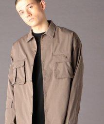 coen/TCストレッチタイプライターユーティリティCPOシャツジャケット(セットアップ対応)(UTILITY LINE)/502942694