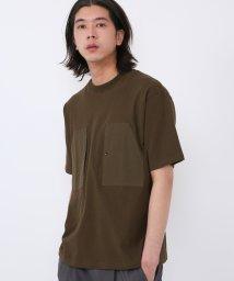 coen/グログランポケットTシャツ/502942700