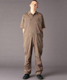 coen/TCストレッチタイプライタージャンプスーツ(つなぎ/オールインワン)(UTILITY LINE)/502942706