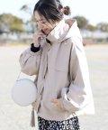 FUNNY COMPANY+/エステルピーチヨーク切替マウンテンパーカー/502943176